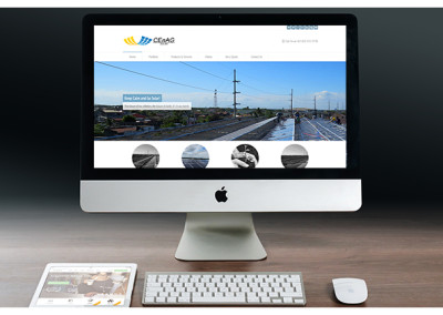Xibre Digital Web Design Featured Portfolio - Cenag Solar 4