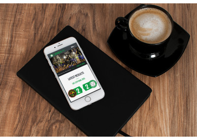 Xibre Digital Web Design Featured Portfolio - Ceres La Salle Football Club 2