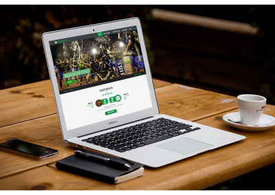 Xibre Digital Web Design Featured Portfolio - Ceres La Salle Football Club 3