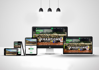Xibre Digital Web Design Featured Portfolio - Ceres La Salle Football Club
